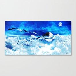 Sonhos e mentiras Canvas Print