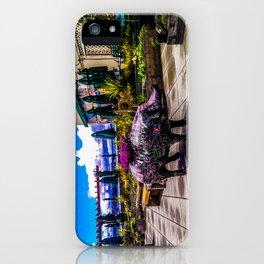 Chalkboard Pig iPhone Case
