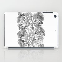 angels iPad Cases featuring ANGELS by TOO MANY GRAPHIX