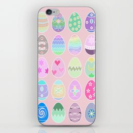 pink easter iPhone Skin
