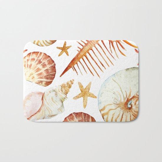 Sea Life Pattern 09 Bath Mat