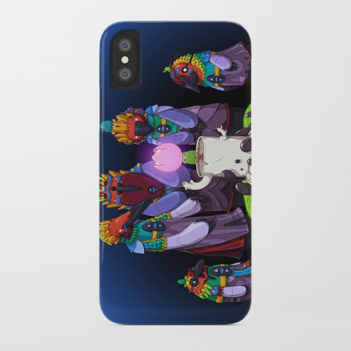 Shadow Puppets iPhone Case