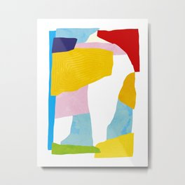 Happy Memories - Abstract Collage Nº1.2 Metal Print