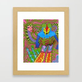 Medussa Luzza Framed Art Print