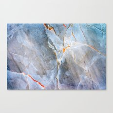 Grey Marble Texture Canvas Print