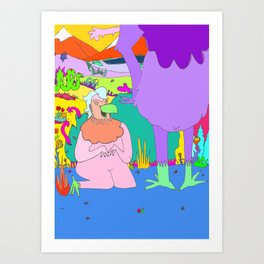 PG Thirteen Art Print