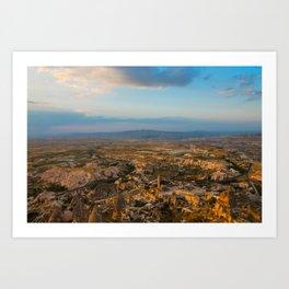 Cappadocia Landscape Art Print