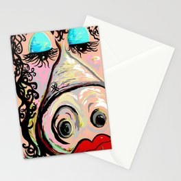Lipstick on a Pig Stationery Cards