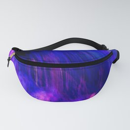 Abstract Purple Mist With A Dash Of Orange Fanny Pack