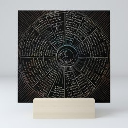 The Names of the Witches Mini Art Print