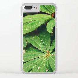 Shining rain Clear iPhone Case