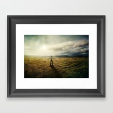 Acknowledging The Day Framed Art Print