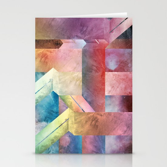 space hipster Stationery Cards
