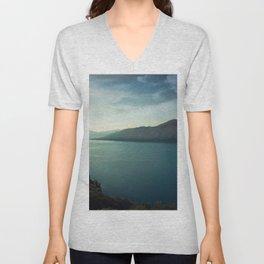Bay Landscape Unisex V-Neck