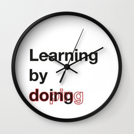 Learning by doing - AutoCorrect Wall Clock