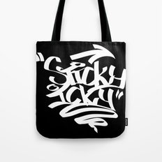 ickysticky Tote Bag