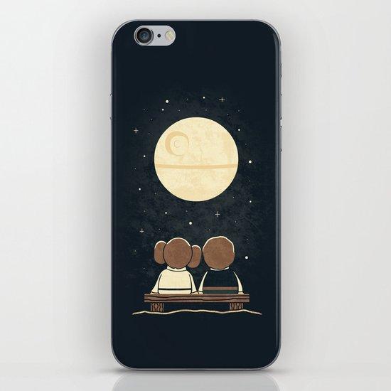 Moon Gazing iPhone & iPod Skin