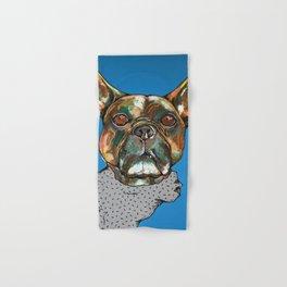 A French Bulldog named Tank Hand & Bath Towel