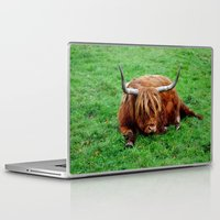 buffalo Laptop & iPad Skins featuring buffalo by  Agostino Lo Coco