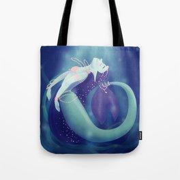 Pearl Mermaid Tote Bag