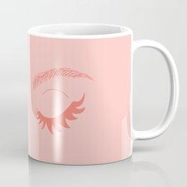 Betty Gone Batty (Coral on Millennial Pink Edition) Coffee Mug