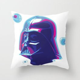 Jelly side of the force Throw Pillow