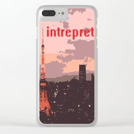 Interpret Tokyo Tower Clear iPhone Case