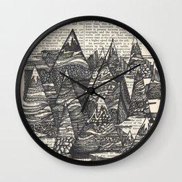 Peak-A-Boo Wall Clock