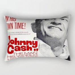 Johnny Cash Rectangular Pillow