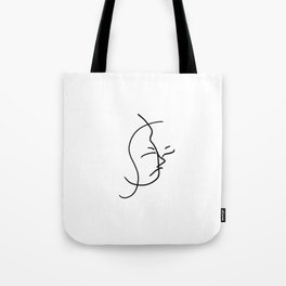 Internalize // Blind Contour Tote Bag