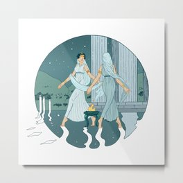 Dance at midnight Metal Print