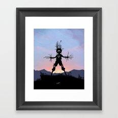 Groot Kid Framed Art Print