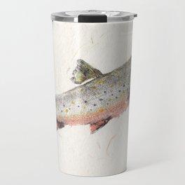 Brook Trout in Spawning colors-Gyotaku Travel Mug