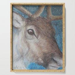 Reindeer (Rangifer tarandus) Serving Tray