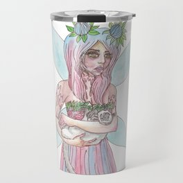 Fairy Cat Mother Travel Mug