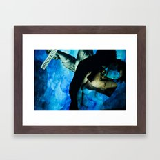 Invader: Projection Series #1 Framed Art Print