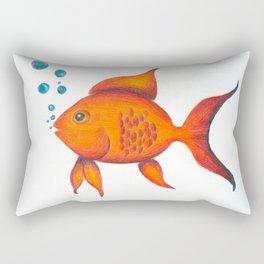 Cleo the Guppy Rectangular Pillow