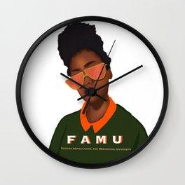 College Bound Wall Clock