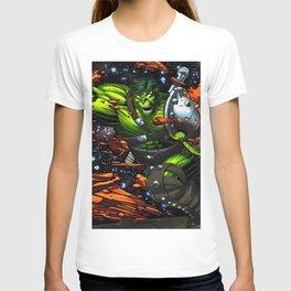 green rampage T-shirt
