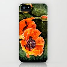 Oriental Poppies family Slim Case iPhone (5, 5s)
