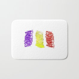 Flag of romania 5 -romania,romanian,balkan,bucharest,danube,romani,romana,bucuresti Bath Mat