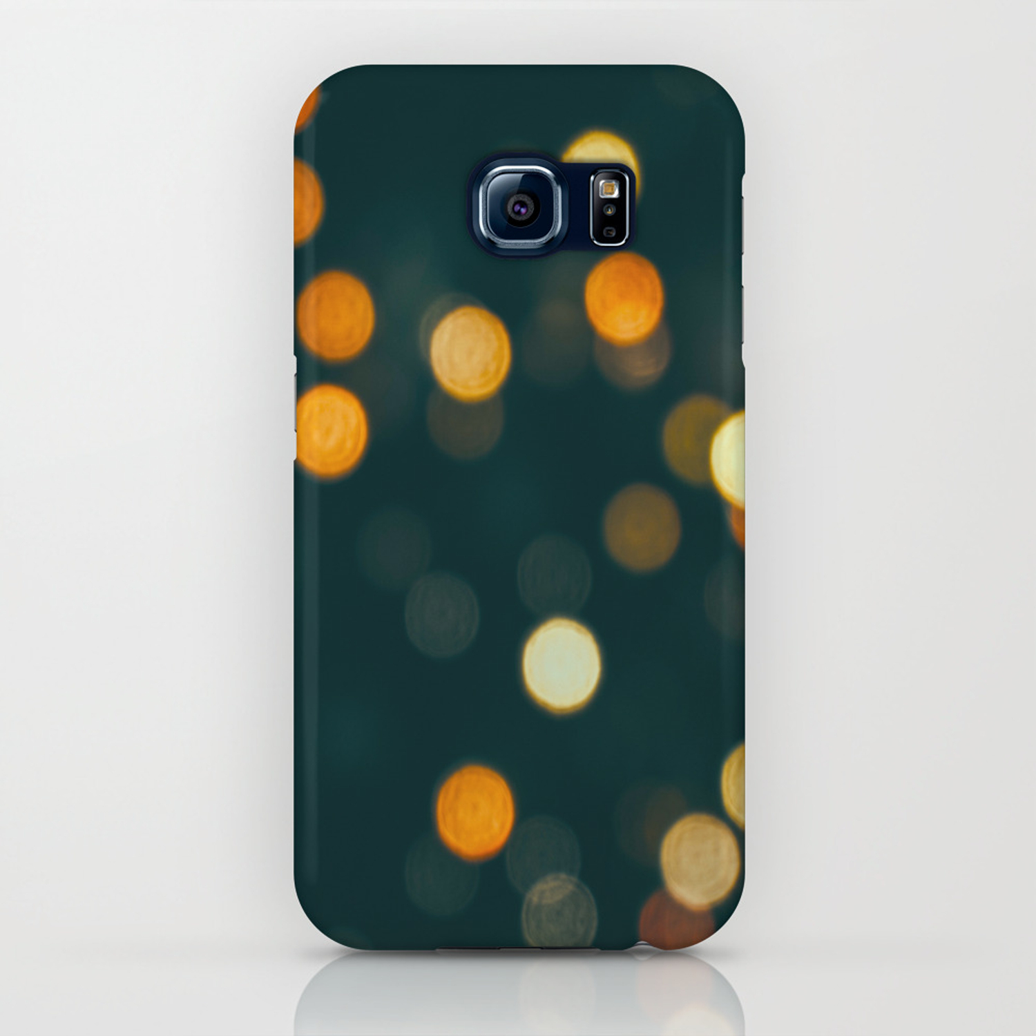 Bokeh Blurred Lights Shimmer Shiny Dots Spots Circles Out Of Focus Iphone Case