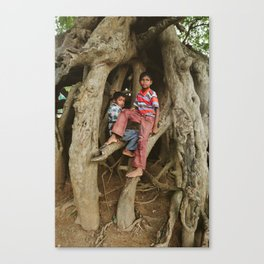 Just Hangin' Out Canvas Print