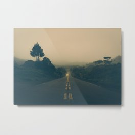 Morning Walk Metal Print
