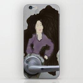 The Door knob Lady iPhone Skin
