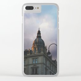 spring in vienna 4 Clear iPhone Case
