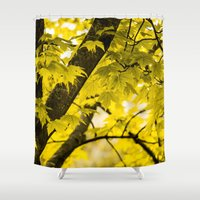 fall Shower Curtains featuring Fall by Faded  Photos