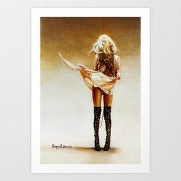 Con faldas y a lo loco! Art Print