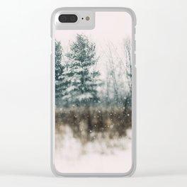 Wonderland #1 Clear iPhone Case