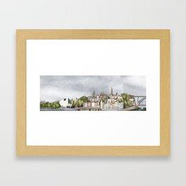 Porto landscape Framed Art Print